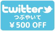 Twitter割500円
