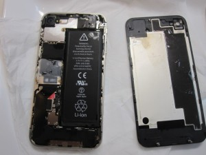 iPhone4S水没修理