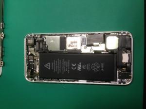 iphone5水没修理