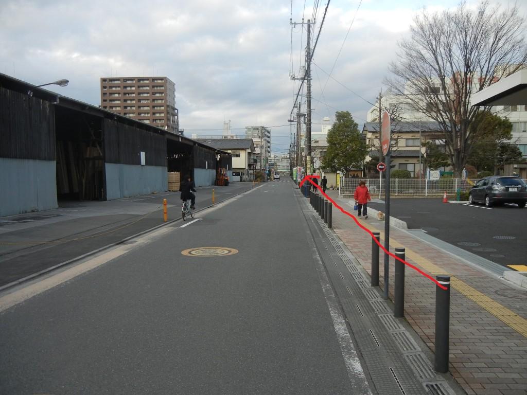 5戸田橋材木市場