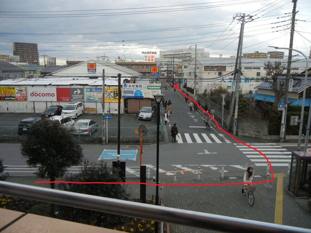 2.1戸田公園駅から