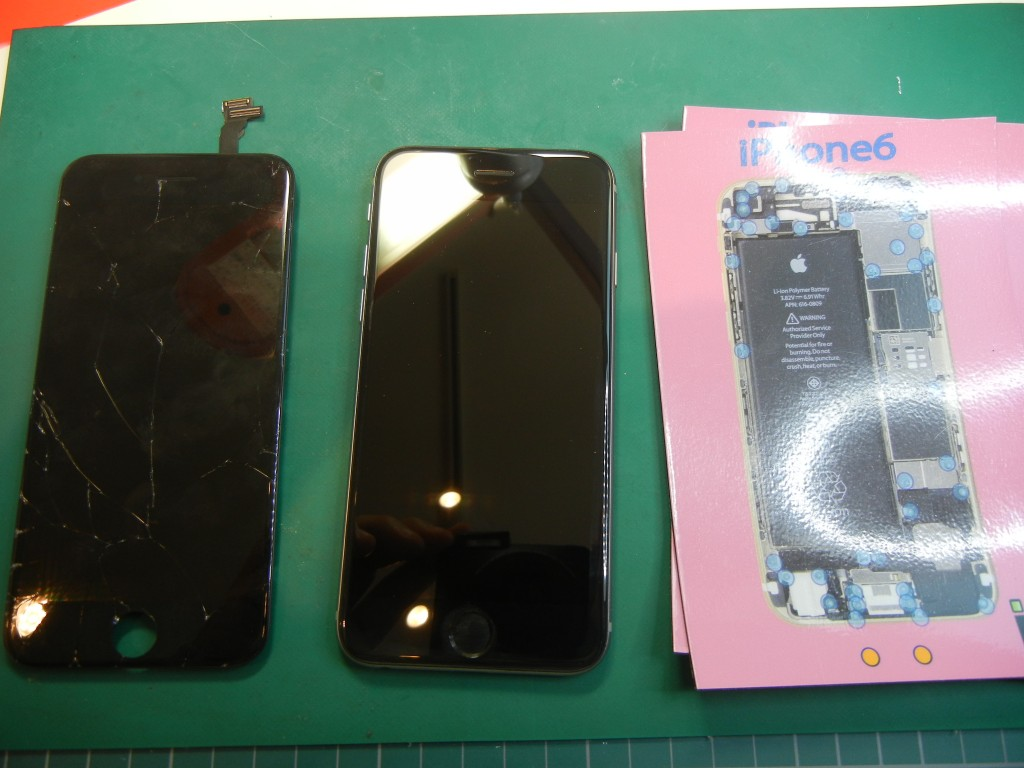 iPhone6ガラス割 戸田川口蕨さいたまはiFC埼玉戸田店