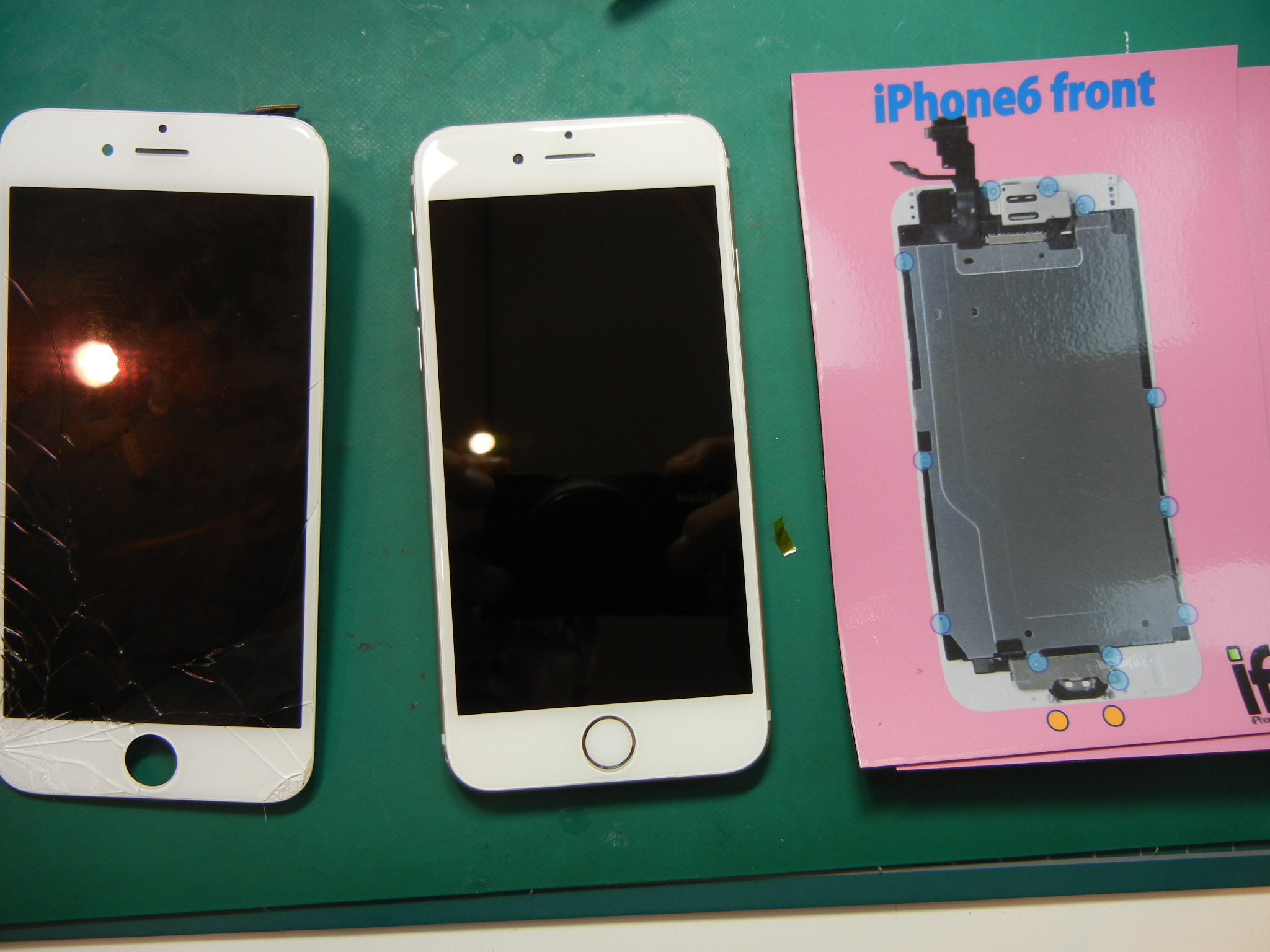 iPhone6ガラス割れ修理はiFC埼玉戸田店0716