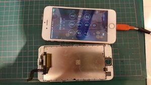 iPhone6S水没復旧修理|埼玉県川口市のお客様/iPhone6Sパネル交換修理もiFC埼玉戸田店